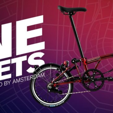 9 Streets Edition by Brompton Bicycle