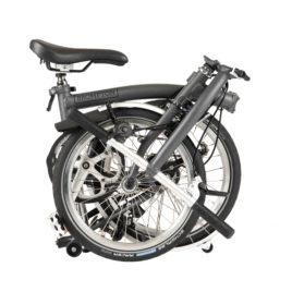Brompton M6L – Graphite Metallic – 2020 year model