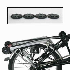 Brompton Rollers Eazy Wheels set of 2 bikes with rear racks