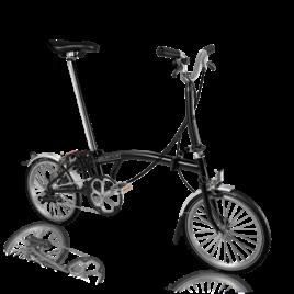 Brompton M3L in Black, 2020 model