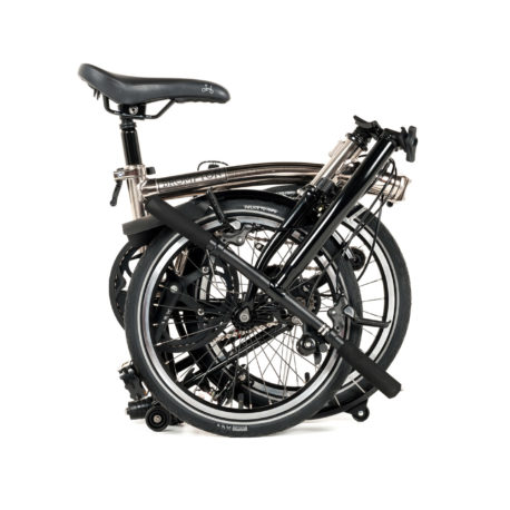 Brompton – Nickel Plated Bike-1