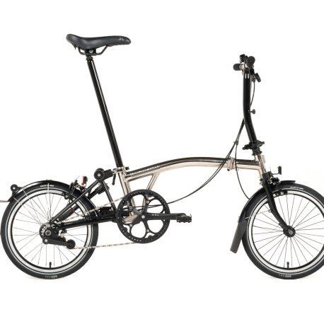 Brompton – Nickel Plated Bike-3