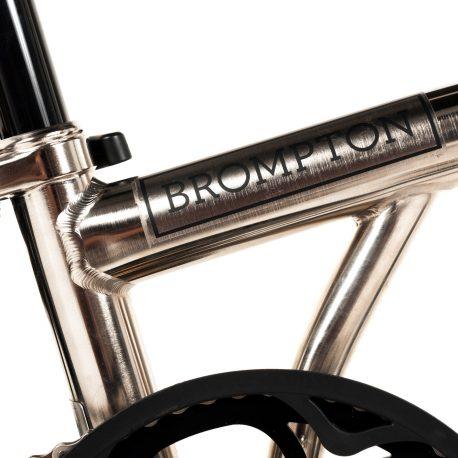 Brompton – Nickel Plated Bike-4