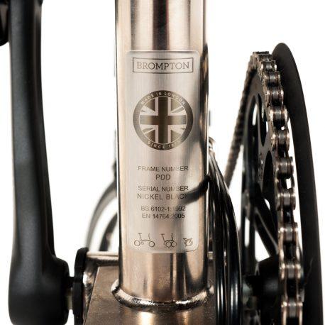 Brompton – Nickel Plated Bike-9