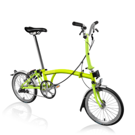 Brompton M3L in Lime Green