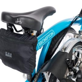 Brompton Cover with integrated pouch