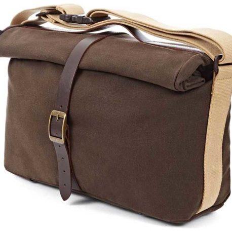 Roll Top Bag, WAXED CANVAS