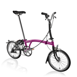 Brompton M3L in Berry Crush