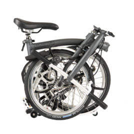 Brompton M6L – Graphite Metallic – 2020 year model