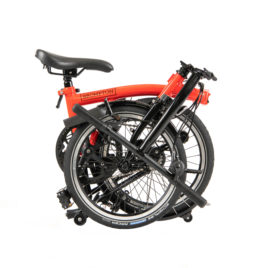 Brompton Black Edition H6L in RED 2020 YM