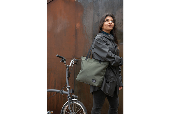 brompton borough tote s olive green lifestyle 1