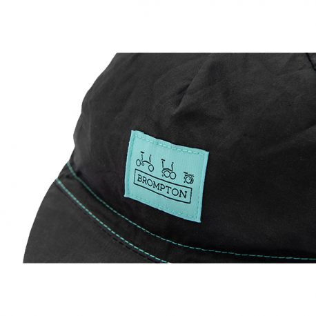 logo collection cap black turkish green 3