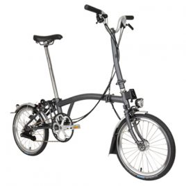 Brompton H3L – Graphite Metallic – 2020 year model
