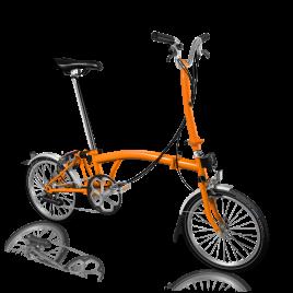 Brompton H6L in Orange